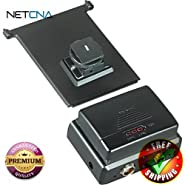MR-90SC Accessory Shoe Mounting Fastener for MR-90a Wireless ENG Receiver With Free 6 Feet NETCNA HDMI Cable - BY NETCNA