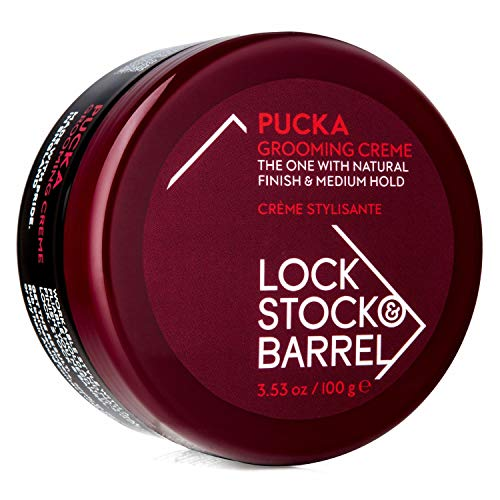 (Lock Stock & Barrel - Pucka Grooming Creme - 100gr / 3.53oz)
