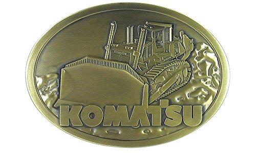 - First Gear Komatsu 475A Dozer Belt Buckle (#90-0448)