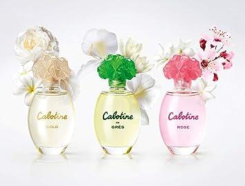 Perfumes de Mujer Original Cabotine EDT EAU Toilette OFERTA REBAJAS PACK 3 FRAGANCIAS X (50ml) Agua de Tocador Colonia duradera Regalo Cumpleaños Joven Fresca: Amazon.es: Belleza