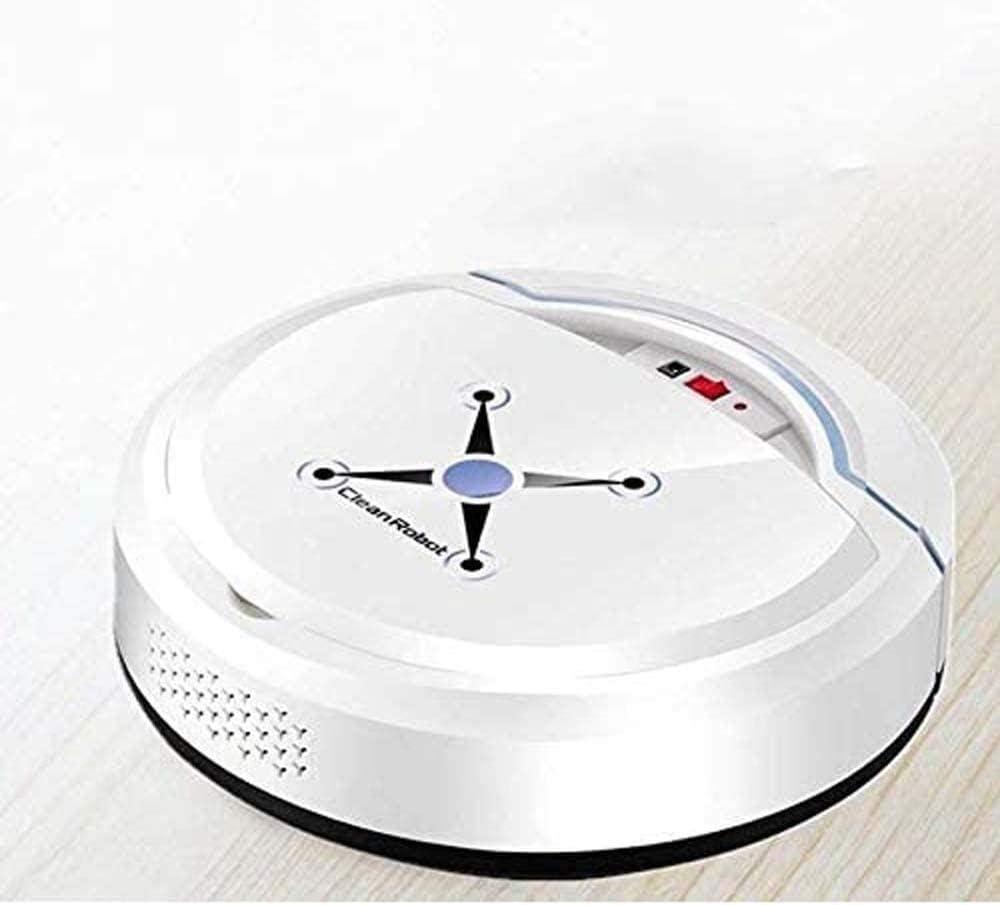 Art Jian Nettoyage Automatique Robot Intelligent Robot Balayer, Dirt Floor Dust Cheveux Cleaner Automatique pour la Maison électrique Rechargeable Cleaners White