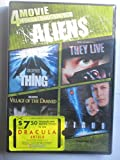 4-Movie Midnight Marathon Pack: Aliens (John Carpenter's The Thing/John Carpenter's They Live/ John Carpenter's Village Of The Damned/Virus) (DVD_