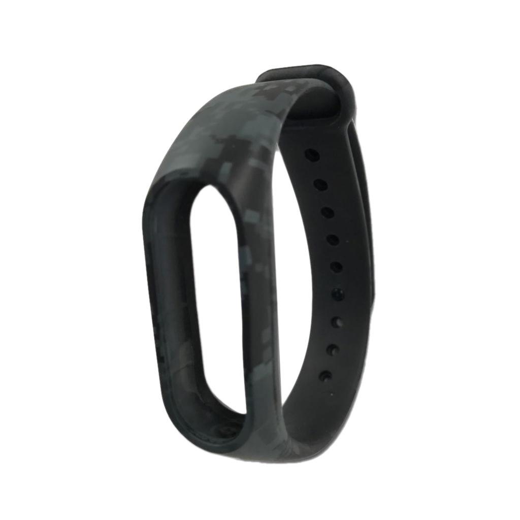 MagiDealシリコンバンド交換用手首ストラップリストバンドブレスレットアクセサリーfor Xiaomi Mi Band 2スマート腕時計Miband  D B072QDYDR7