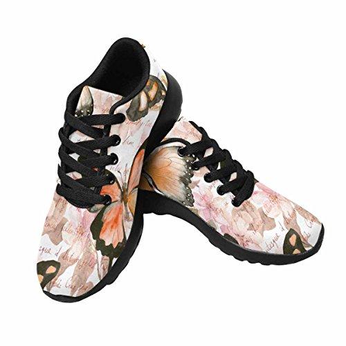 InterestPrint Womens Jogging Running Sneaker Lightweight Go Easy Walking Comfort Sports Running Shoes Multi 10 bgNcJj