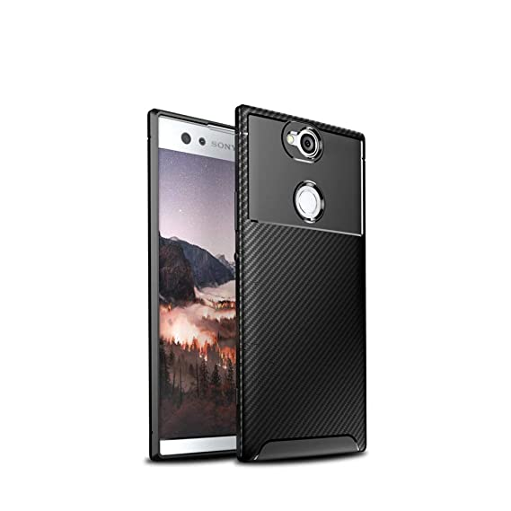 check out e4576 f986f Sony Xperia XA2 Plus Case,Sony Xperia XA2 Plus Case, Hybrid Armor Case with  Air Cushion Technology and Secure Grip Drop Protection for Sony Xperia XA2  ...