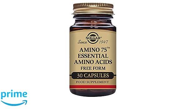 Solgar Amino 75 Aminoácidos - 30 Cápsulas: Amazon.es: Salud y cuidado personal