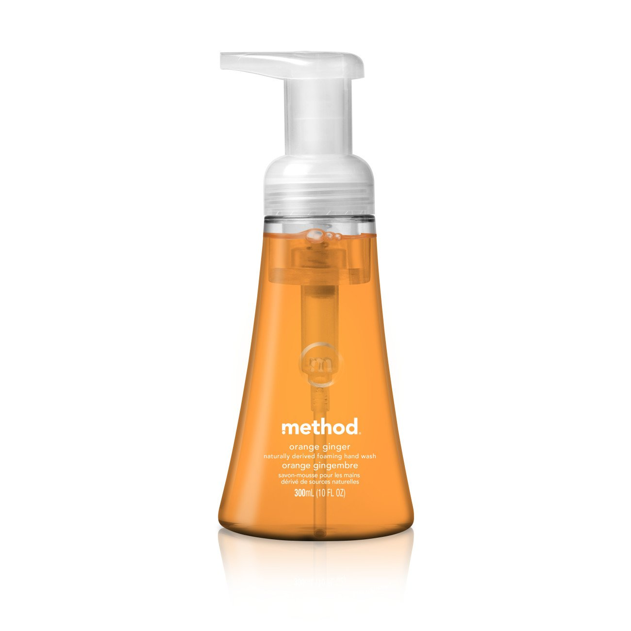 Method Foaming Hand Soap, Orange Ginger, 10 Ounce (6 Count)