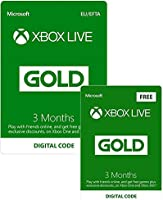 Only £14.99: Buy 3 Months Gold, get 3 Months free!