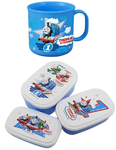 Osk Engine (Thomas the Tank Engine Cup and Three Lunch Cases Sold All Together)