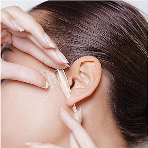 Ear Gauge Stretching Kit,36PC Gauges Kit Acrylic Plugs Stainless Steel Tapers 14G-00G Ear Stretching Piercing Set,Yellow by WANGYONGQI (Image #3)