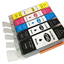 5 Pack PGI-270 CLI-271 NON-OEM Ink Cartridges FOR Canon PIXMA models MG5720, MG5721, MG5722, MG6820, MG6821, MG6822, MG7720, Xpress Ink & Toner TM