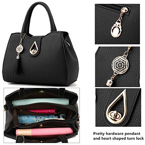 Bag Lock handle Luxury Office Crossbody Handbags Fashion Melord Tote purple Purse Top Women Lady Satchel for 6THwwx1