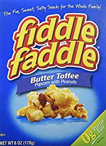 Amazon Com Fiddle Faddle Butter Toffee With Peanuts 2