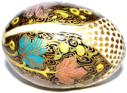 Egg for Decoration. 100% Handmade and Hand Painted Paper Mache Product from the Artisans of -