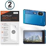 Sony Cyber-shot DSC-TX30 Screen Protector, BoxWave® [ClearTouch Anti-Glare (2-Pack)] Anti-Fingerprint Matte Film Skin for Sony Cyber-shot DSC-TX30