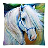 Animals Horse Art Best-selling Zippered Pillow Cases 18x18 inches(Two Sides)