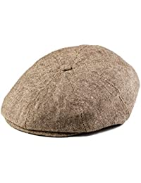 Scally Cap - Toddler and Boy's Hat Tan and Brown Newsboy Cap for Kids