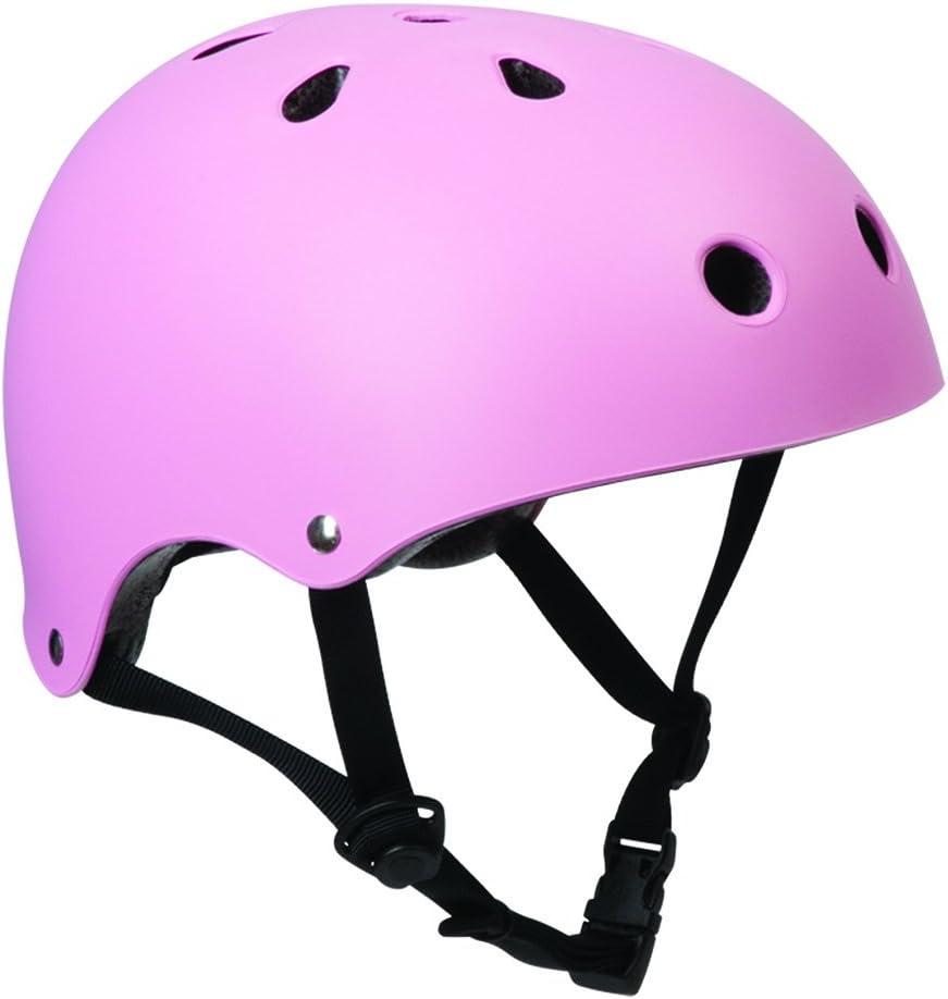 SFRスケート/スクーター/BMXヘルメット - マットピンクSM(53cm-56cm)