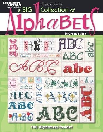 Amazon.com: Leisure Arts una enorme colección de Alfabetos ...