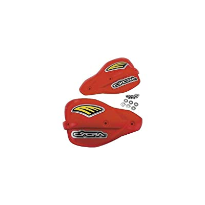 Cycra Pro Bend Classic Enduro Replacement Shields (RED): Automotive