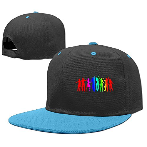 Custom Unisex-Adult Dance Together Casual Hip Hop Cap Hat (Halloween Beatles Costumes For Adults)