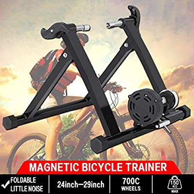 Bike Trainer Stationary Stand Magnetic Resistance Bicycle Exercise Quick Release