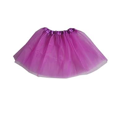 Arrowhunt - Falda - globo - para bebé niña Morado #13 Talla única ...