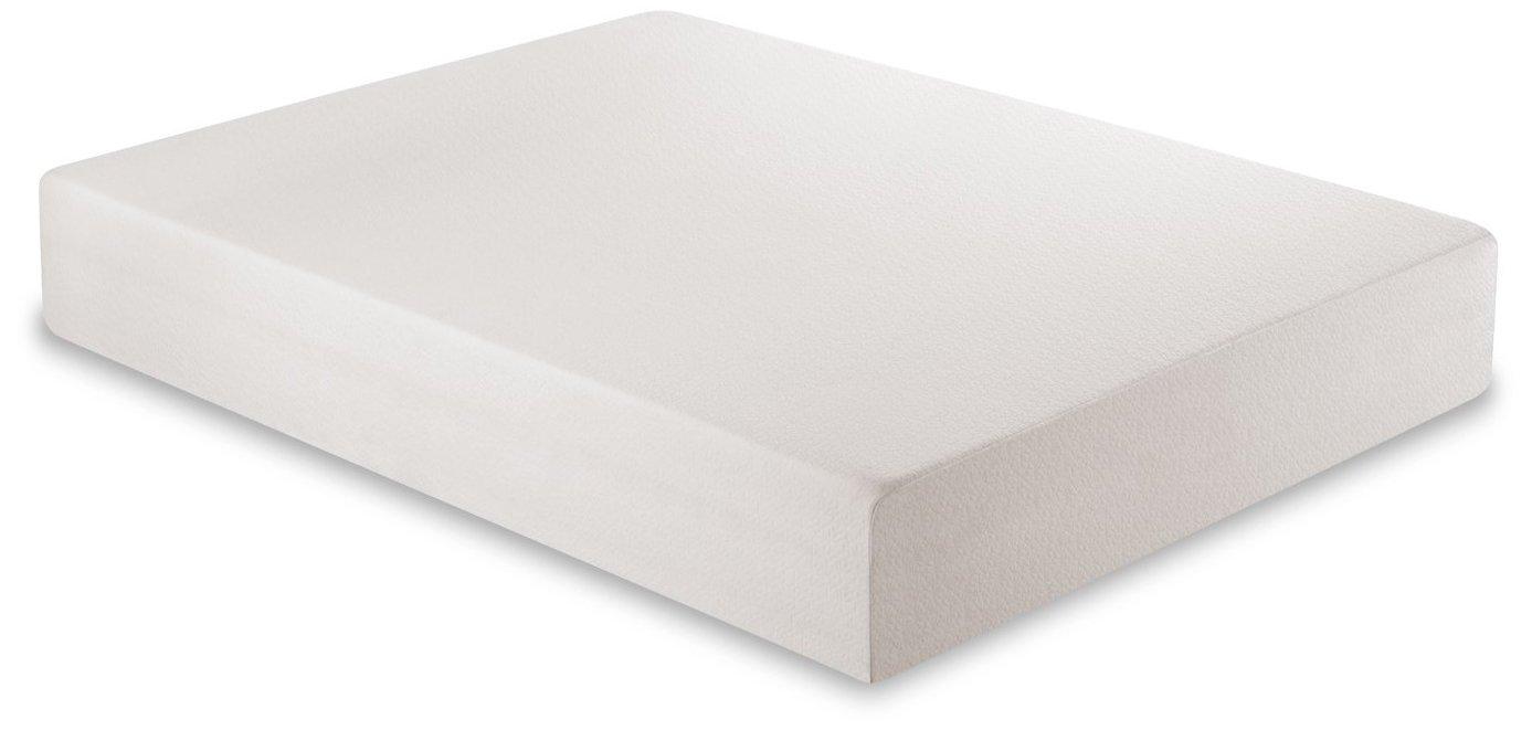 galleon zinus 12 inch gel infused green tea memory foam mattress queen. Black Bedroom Furniture Sets. Home Design Ideas