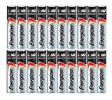 #7: Energizer AAA Max Alkaline E92 Batteries Made in USA - Expiration 12/2024 or later - 20 count