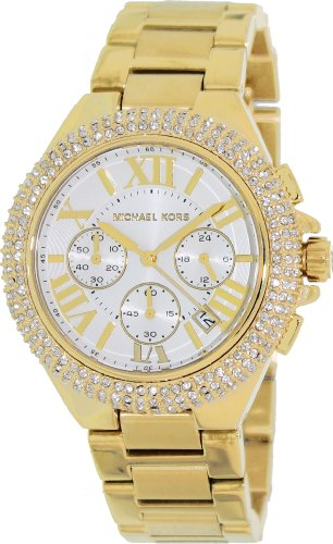 f03b03ac0a8f Michael Kors Bradshaw Chronograph Gold-tone Ladies Watch MK5756  (B00B83AHU6)