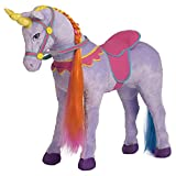 Rockin' Rider Sprinkles Stable Unicorn Plush, Purple