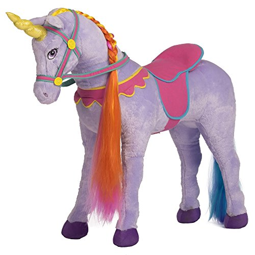 Ship Sprinkles (Rockin' Rider Sprinkles Stable Unicorn Plush, Purple )