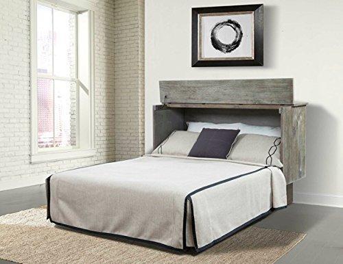 Enterprises Creden-ZzZ Queen Studio Ash Cabinet Bed