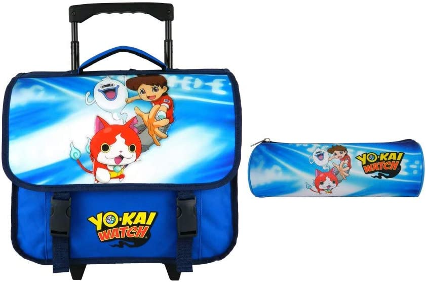 Bagtrotter Yokai Watch - Mochila Infantil (38 cm), Color Azul: Amazon.es: Equipaje