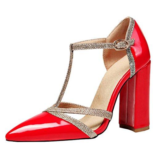 Mujer 8 KST Vertical K Rojo 18A21969 Tira Agodor Y4wa8q4
