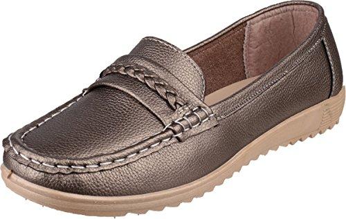 Pewter Amblers Thames 37 Size Shoe Ladies FF8RP