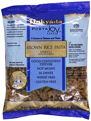 Tinkyada Pasta Joy Ready, Shell, Brown Rice, 16 ()
