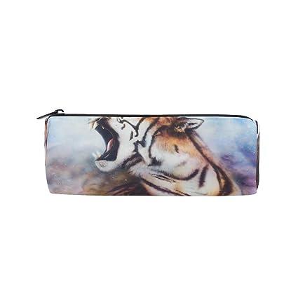 FAJRO Roaring Tiger - Estuche para lápices, diseño de tigre ...