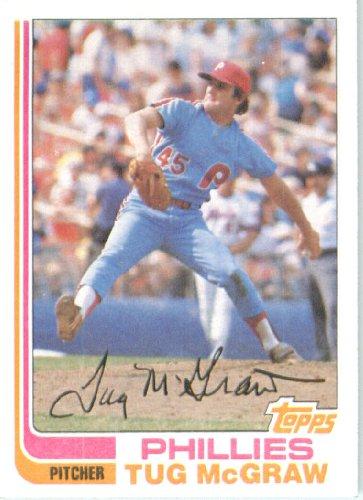 1982 Topps 250 Tug Mcgraw Philadelphia Phillies Baseball