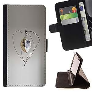 Momo Phone Case / Flip Funda de Cuero Case Cover - Moderno Estructura Diseño Arte Figura Estatua - Sony Xperia Z3 D6603