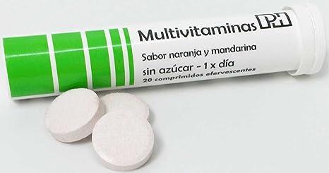 MULTIVITAMINAS PH 20 comprimidos efervescentes, 10 vitaminas que te aportaran energía y vitalidad. También