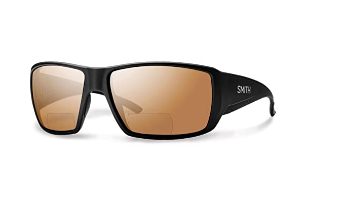 ee0a59dd77 Smith Guides Choice Bifocal Polarized Sunglasses - Men s Matte Black Copper  Mirror 2.50