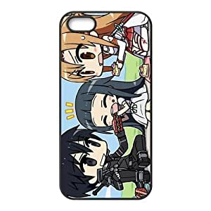 Case for iPhone 5s,Cover for iPhone 5s,Case for iPhone 5,Hard Case for iPhone 5s,Sword Art Online Design TPU Hard Case for Apple iPhone 5 5S