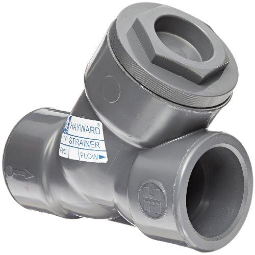 Hayward PVC Y-Strainer, FPM Seal, 3'' Socket by Hayward Flow Control