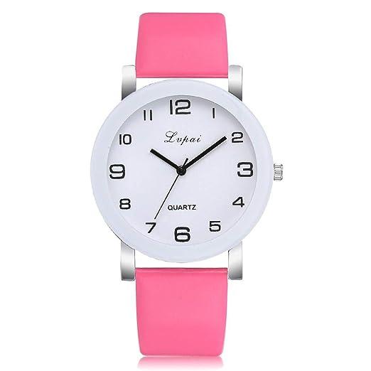Hot Sal.firally Las Mujeres de Band Reloj Analógico para la ocasión de Cuarzo Reloj de Pulsera wristwatches Relojes de Pulsera Relojes de Mujer Rosa Caldo: ...