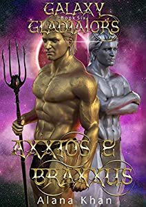 Their chemistry is off the charts. But Axx can't feel love.  Minutes after being kidnapped from Earth, Brianna must breed with sexy gladiator Axxios. Their chemistry is amazing, but he can't feel love for any female. Brianna despairs fo...
