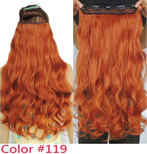28 inch curly extension clip in - 7