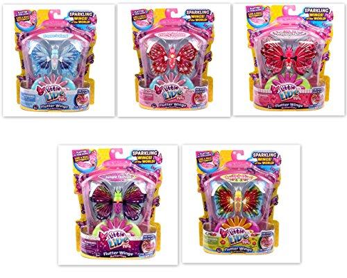 Little Live Pets Bundle Series 2 Butterflies Frozen Iceland Precious Paris Tropical Beauty Jungle Fashion Cherry Blossom