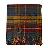 Birchwood Tweedmill Haverford West Throw Blanket, Antique Buchanan