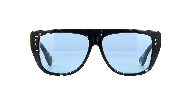 a067e450b0 Amazon.com  Authentic Christian Dior Club 2 09WZ KU Havana Black Crystal  Sunglasses  Clothing